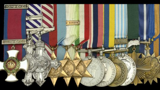 12 medals belonging to World War Two pilot Group Captain John R. H. Merifield going on sale 13 January 2021 DATE UNKNOWN CREDIT DIX NOONAN WEBB .jpg