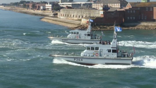 14 P2000 in Portsmouth 270918 v2 CREDIT BFBS