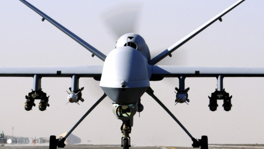 Reaper crews can operate the UAV from thousands of miles away (Picture: MOD).