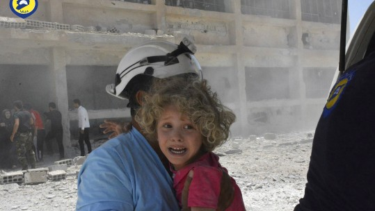 Syrian Civil Defence White Helmets