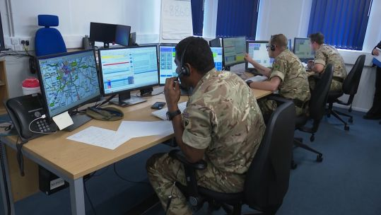 2 Yorks at NorthYorkshire Police office 260719 CREDIT BFBS.jpg