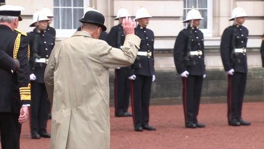 Prince Philip Ends Solo Public Duties In Front Of The Royal Marines