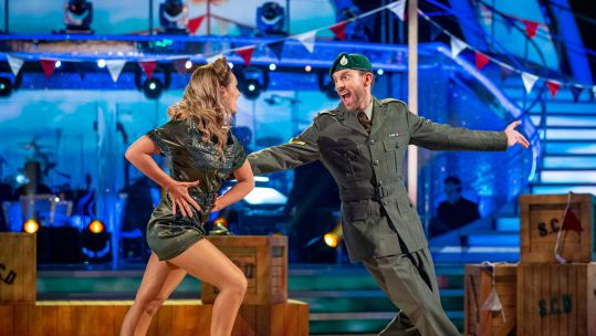 JJ Chalmers Amy Dowden Strictly Come Dancing BBC Credit BBC / Guy Levy