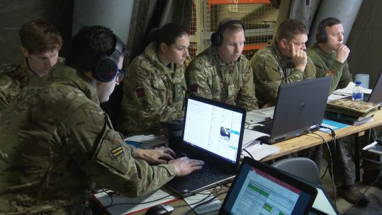 Members of 4 Brigade are receiving unit intelligence that could replicate the situation on the ground.