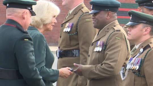 4 Rifles Op Toral Medals Duchess of Cornwall