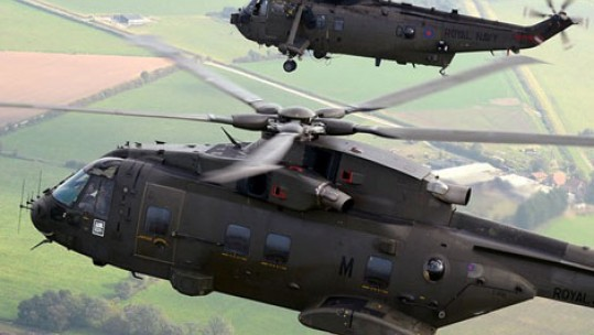 Royal Navy Pilots in Salisbury Plain Exercise