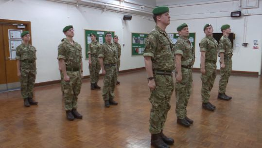 The battalion is made up of reservists that have deployed with regular units across the globe.