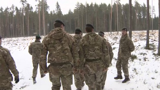 5 RIFLES To Take Lead In NATO Estonia Mission