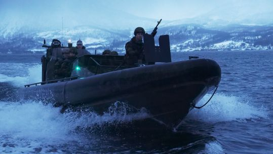 539 Assault Squadron in Norway