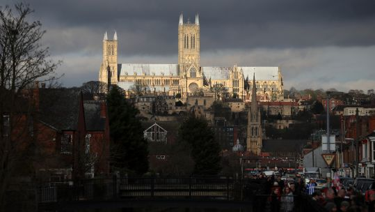 Cover image: Lincoln Cathedral (Picture: PA).