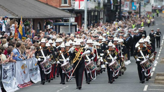 Armed Forces Day: Red Arrows & Military Parade Wow Crowds