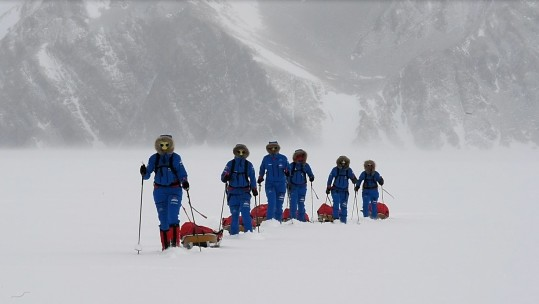 Ice Maidens South Pole