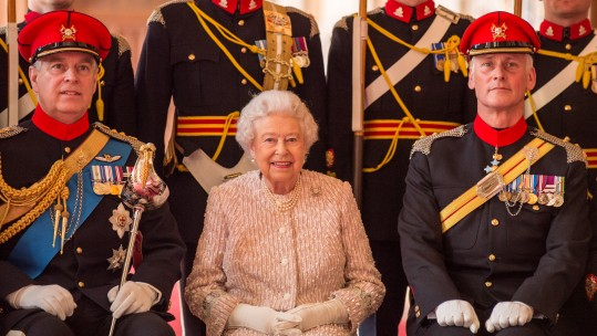 Queen Honours The Royal Lancers
