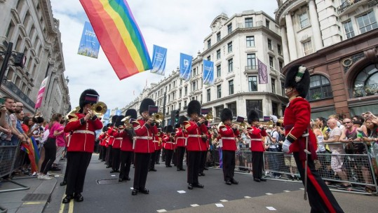 Welsh Guards Gay Pride London