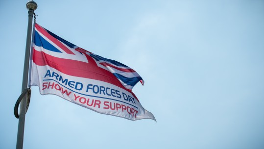Armed Forces Day Flag Aldershot