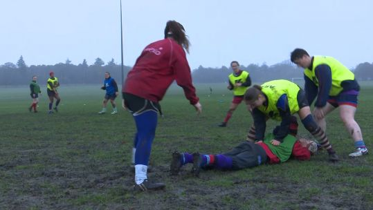 Army Rugby Women Training 30/11/2018