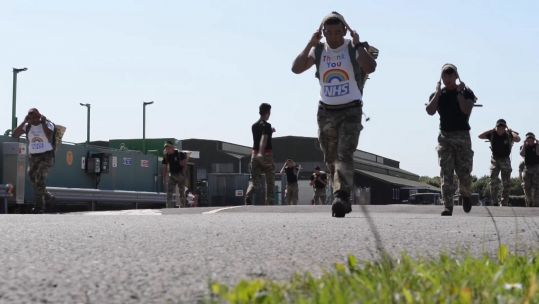 ARRC charity doko race in gloucestershire 010720 credit BFBS.jpg