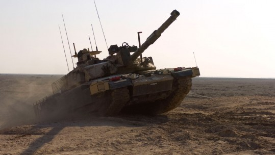 2003 Iraq War British Tank