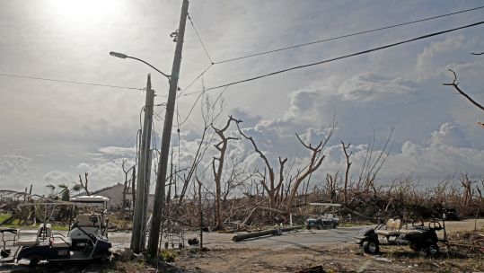 Abaco Island in the Bahamas after Hurricane Dorian 160919 SOURCE BFBS
