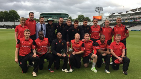 Army 2017 Inter-Services T20 win