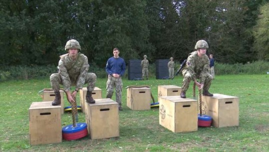 New Army Fitness Test Scraps Allowances For Female and Older Soldiers