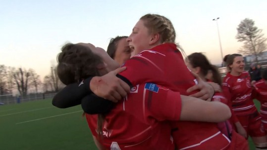 British Army Women Down German Internationals