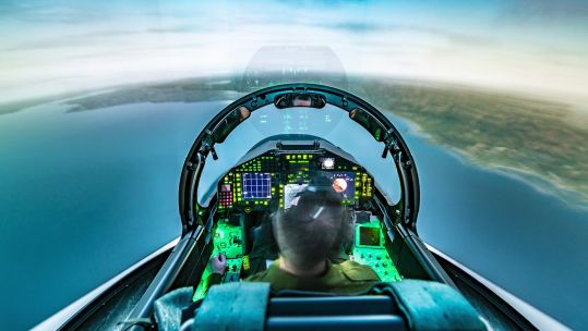BAE Typhoon synthetic training (Picture: BAE Systems).
