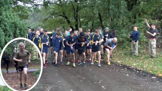 British Forces Germany cross country