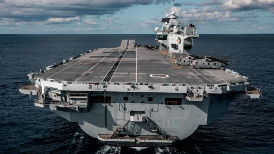 HMS Queen Elizabeth Crown Copyright 2019