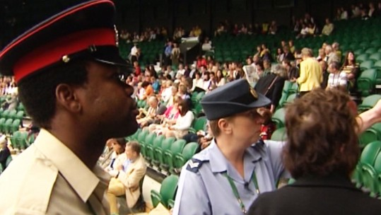 Service Personnel Play Their Part At Wimbledon