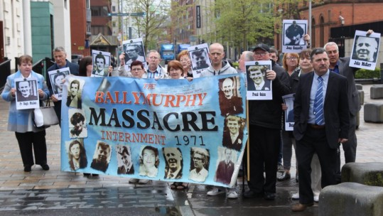 Families of the Ballymurphy victims.