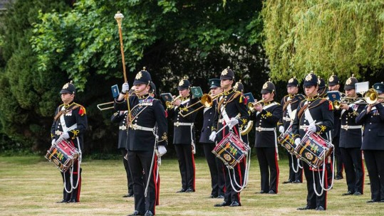 Band of the Royal Logistic Corps CREDIT FACEBOOK