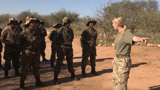Black Mambas Female Anti-Poaching Training