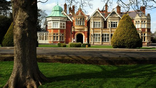 Bletchley Park main house 250310 CREDIT PA