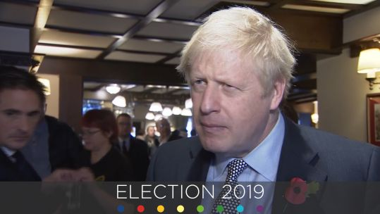 Boris Johnson 2019 General Election cover pic