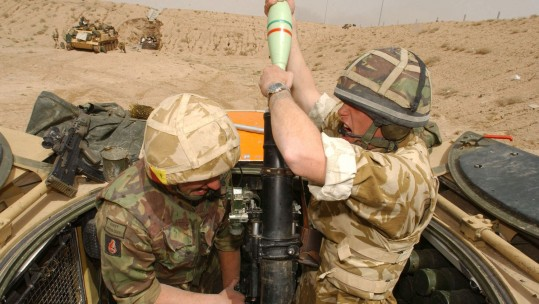 British Army Iraq War