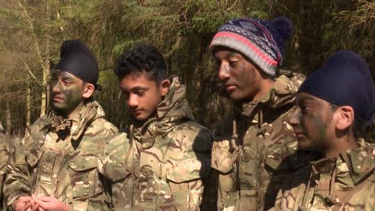 British Army 'Supercamp'