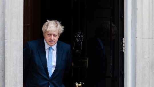Prime Minister Boris Johnson outside 10 Downing Street (Picture: PA).