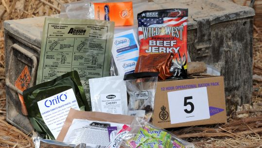 British Ration Pack, Afghanistan