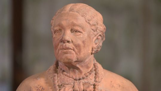 Bust of Mary Seacole from 45 280720 CREDIT BFBS