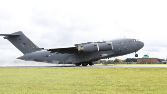 MoD Signs £260 Deal To Support RAF C-17