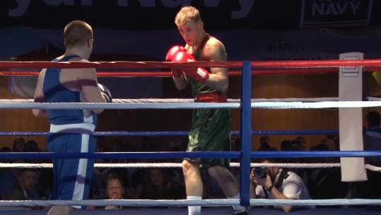 Army Take On Navy In Boxing Battle For Scotland