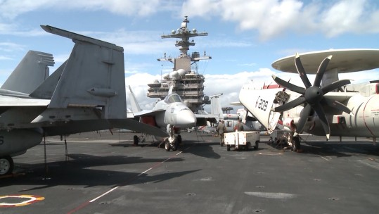 Special Report: On Board USS George HW Bush