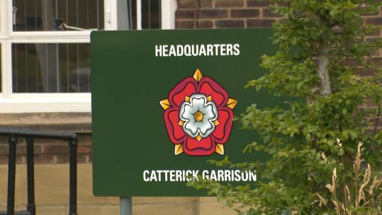 Catterick Garrison signage 270720 SOURCE BFBS