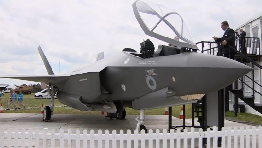 An Upclose Look At The F-35