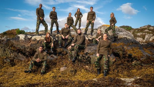 Celebrity SAS Who Dares Wins Katie Price Joey Essex Anthea Turner Helen Skelton Brendan Cole John Fashanu Nikki Sanderson Jack Maynard Lauren Steadman Locksmith Yasmin Evans Tony Bellew Credit Channel 4