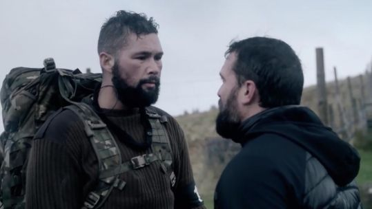 Celebrity SAS Who Dares Wins Episode 4 Ant Middleton Tony Bellew Credit Channel 4