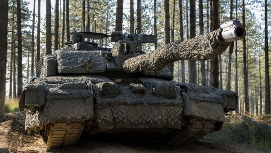 Cover image: British Army Challenger 2 tank (Picture: MOD).