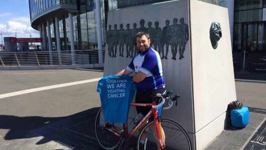 Royal Navy Engineer Takes On Charity Football Tour