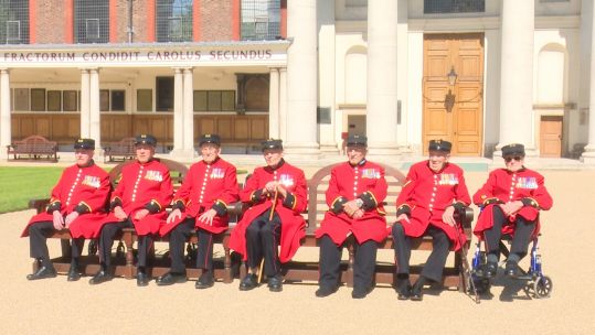 Chelsea Pensioners D-Day veterans.